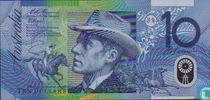 Australië 10 Dollars 1993