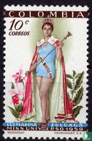 Luz Marina Zuluaga, Miss universe