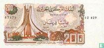 Algerije 200 Dinars 1983