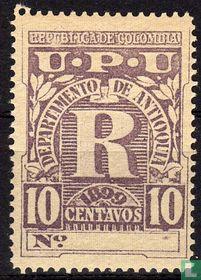 Registered stamp
