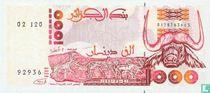 Algerije 1000 Dinars 1992