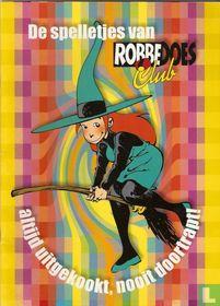 De spelletjes van Robbedoes Club
