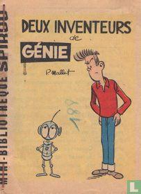 Deux inventeurs de génie