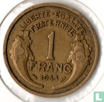 Frankrijk 1 franc 1933