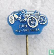 Hispano Suiza 1910 [goud op blauw]