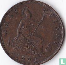 Verenigd Koninkrijk ½ penny 1861 kopen