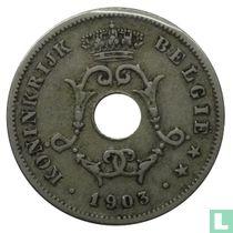 België 10 centimes 1903 (NLD - klein jaartal)
