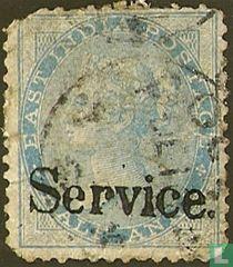 Königin Victoria mit Aufdruck Service