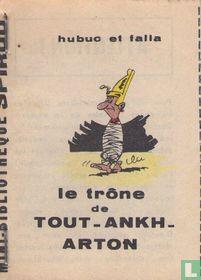 Le trone de Tout-Ankh-Arton