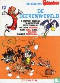 De dierenwereld - 7 grappige, gevoelige en ontroerende meesterwerkjes van Frank, Franquin, Malik, Roba, Seron, Walthéry, Warnant, Wasterlain...