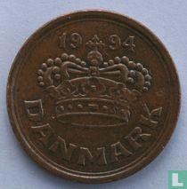 Denemarken 25 øre 1994