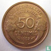 Frankrijk 50 centimes 1932 (gesloten 9 en 2)