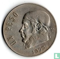 Mexico 1 peso 1975 (korte datum)