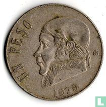 Mexico 1 peso 1979 (dikke datum)