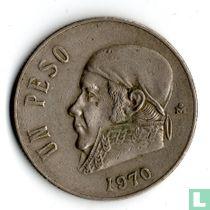 Mexico 1 peso 1970 (smalle datum)