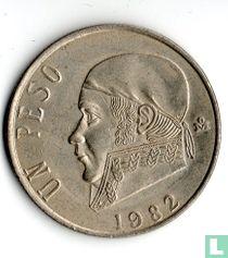 Mexico 1 peso 1982 (gesloten 8)