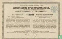 Europeesche spoorwegwaarden, Bewijs van deelgerechtigheid, Een 113.390e aandeel