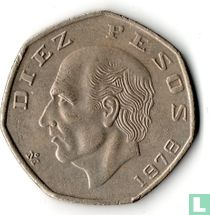 Mexico 10 pesos 1978