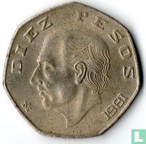 Mexico 10 pesos 1981
