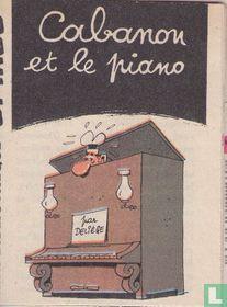 Cabanon et le piano