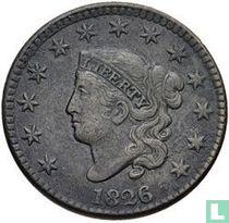 Verenigde Staten 1 cent 1826
