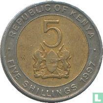Kenia 5 shillings 1997 kopen