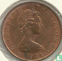 Man 2 new pence 1971