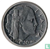 Italien 20 Centesimi 1941