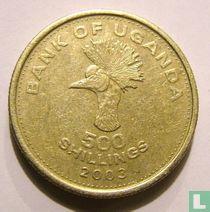 Uganda 500 shillings 2003
