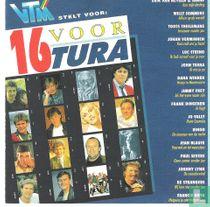 16 voor Tura
