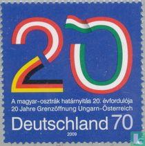 Grensopening tussen Hongarije en Oostenrijk