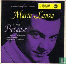 Mario Lanza Sings Because