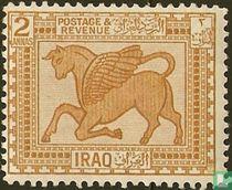 Babylonisch bas-reliëf