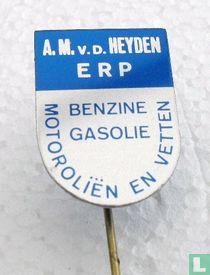A.M. v.d. Heyden Erp benzine gasolie motoroliën en vetten