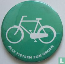 Alle fietsen zijn groen
