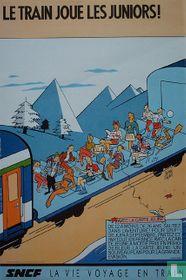 Le train joue les juniors!