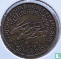 Cameroon 5 francs 1958