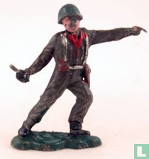 Britse infanterist, commandant