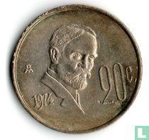 Mexico 20 centavos 1974