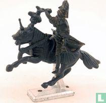 Ottoman knight on horseback