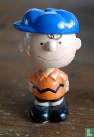 Charlie Brown bobblehead blue cap