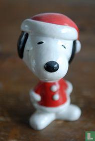 Snoopy bobblehead Santa