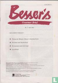 Besser's Gourmet Brief 7