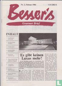 Besser's Gourmet Brief 1