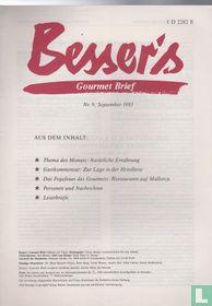 Besser's Gourmet Brief 9