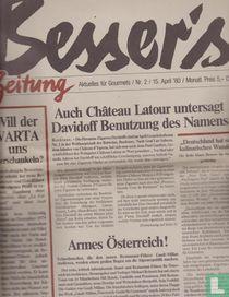 Besser's Gourmet-Zeitung 2