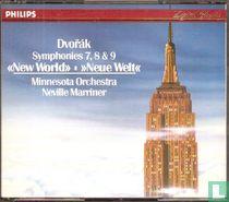 Symphonies 7, 8 & 9