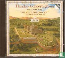Concert grossi op. 6 nos. 9-12