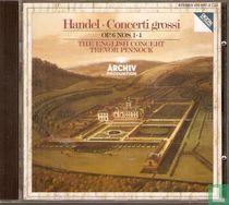 Concert grossi op. 6 nos. 1-4