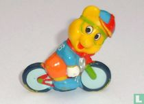 Cyclist bear